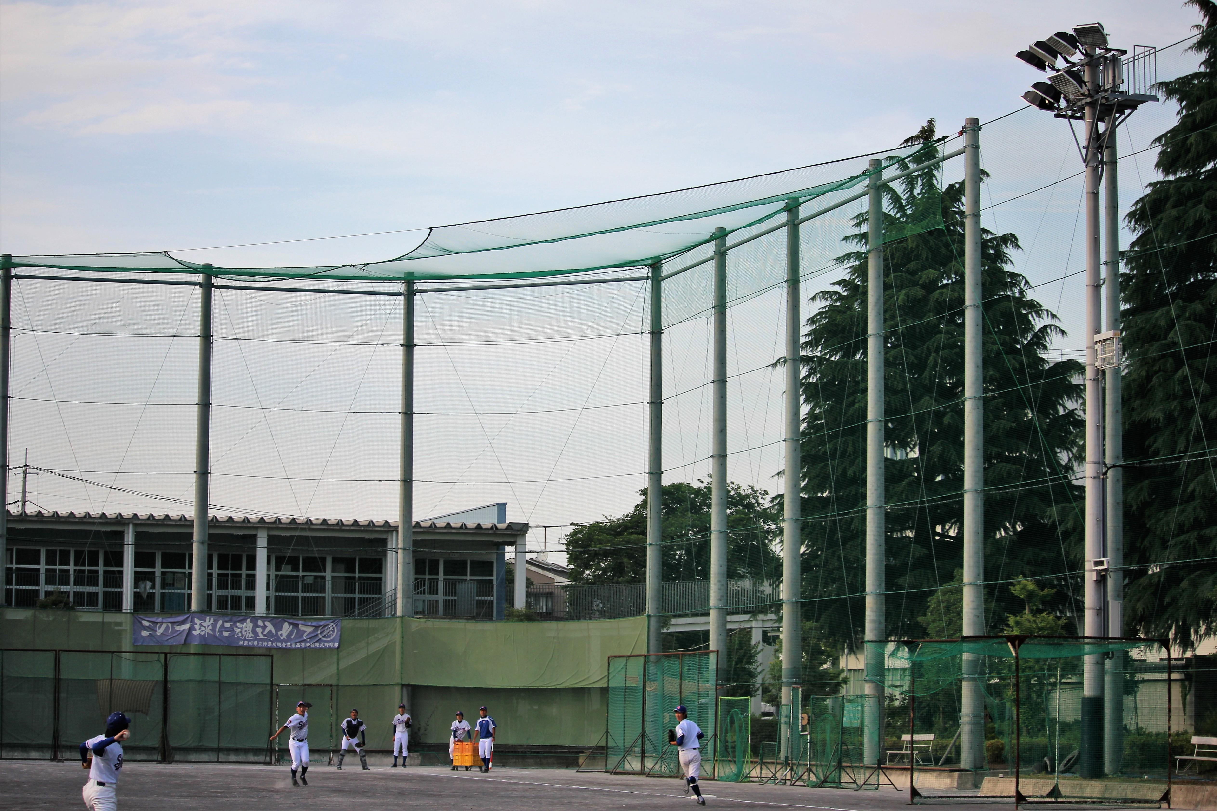 【神奈川総合産業 野球部】「絶対にうまくなる」充実した設備