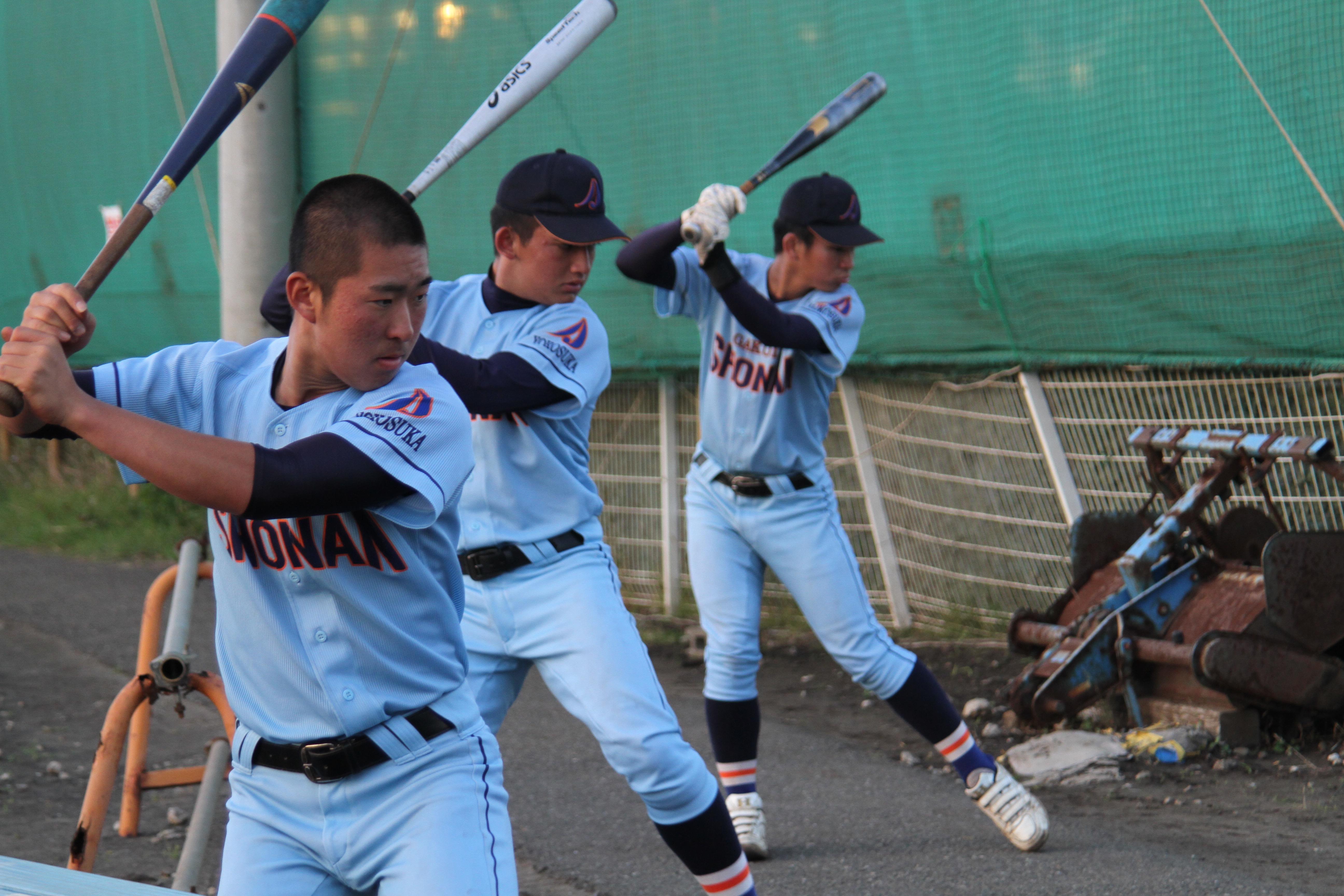 【湘南学院 野球部】徹底したシンプルな素振り