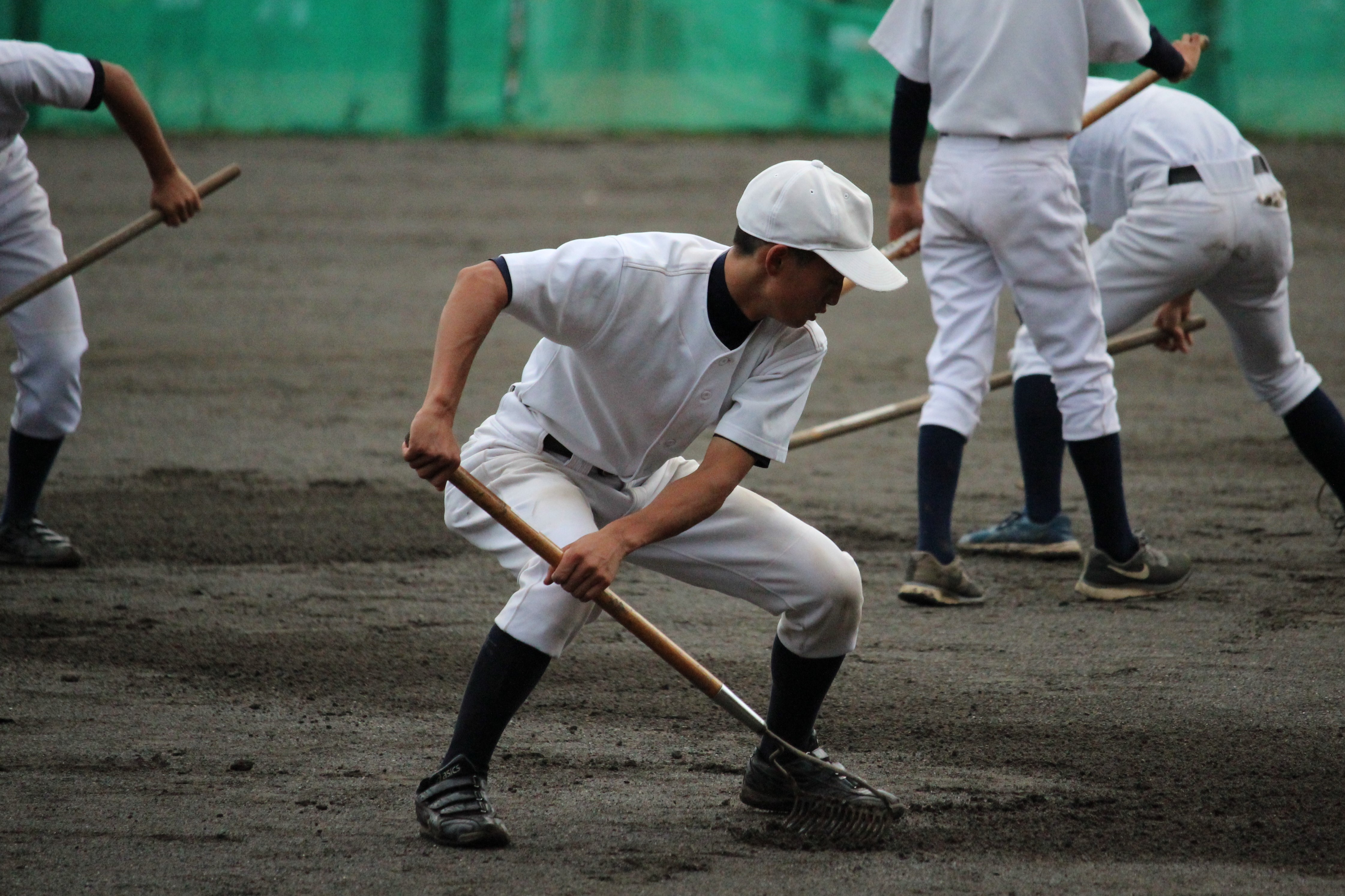 【立川 野球部】伝統の昼練習