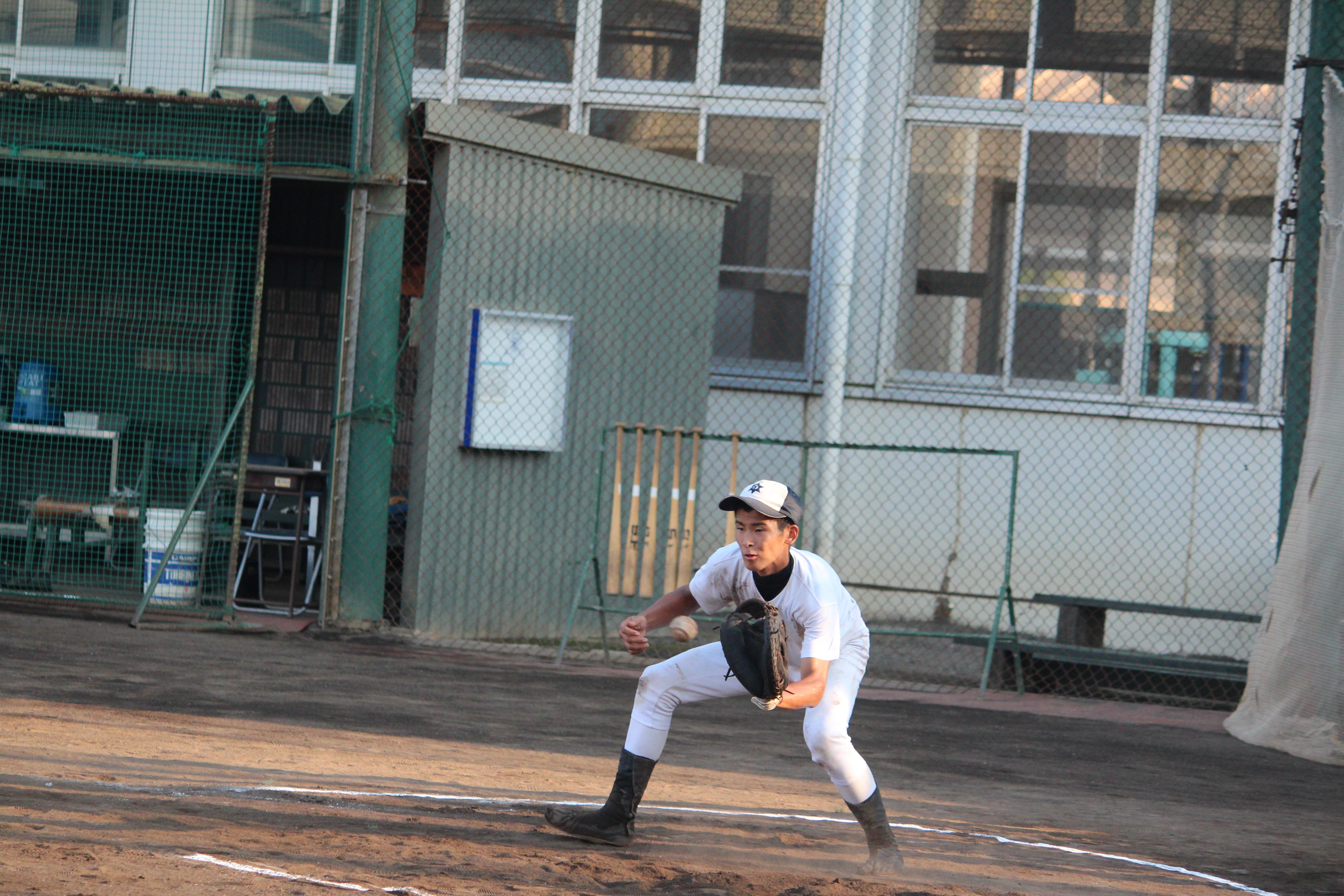 【焼津水産 野球部】サークルのボール回し
