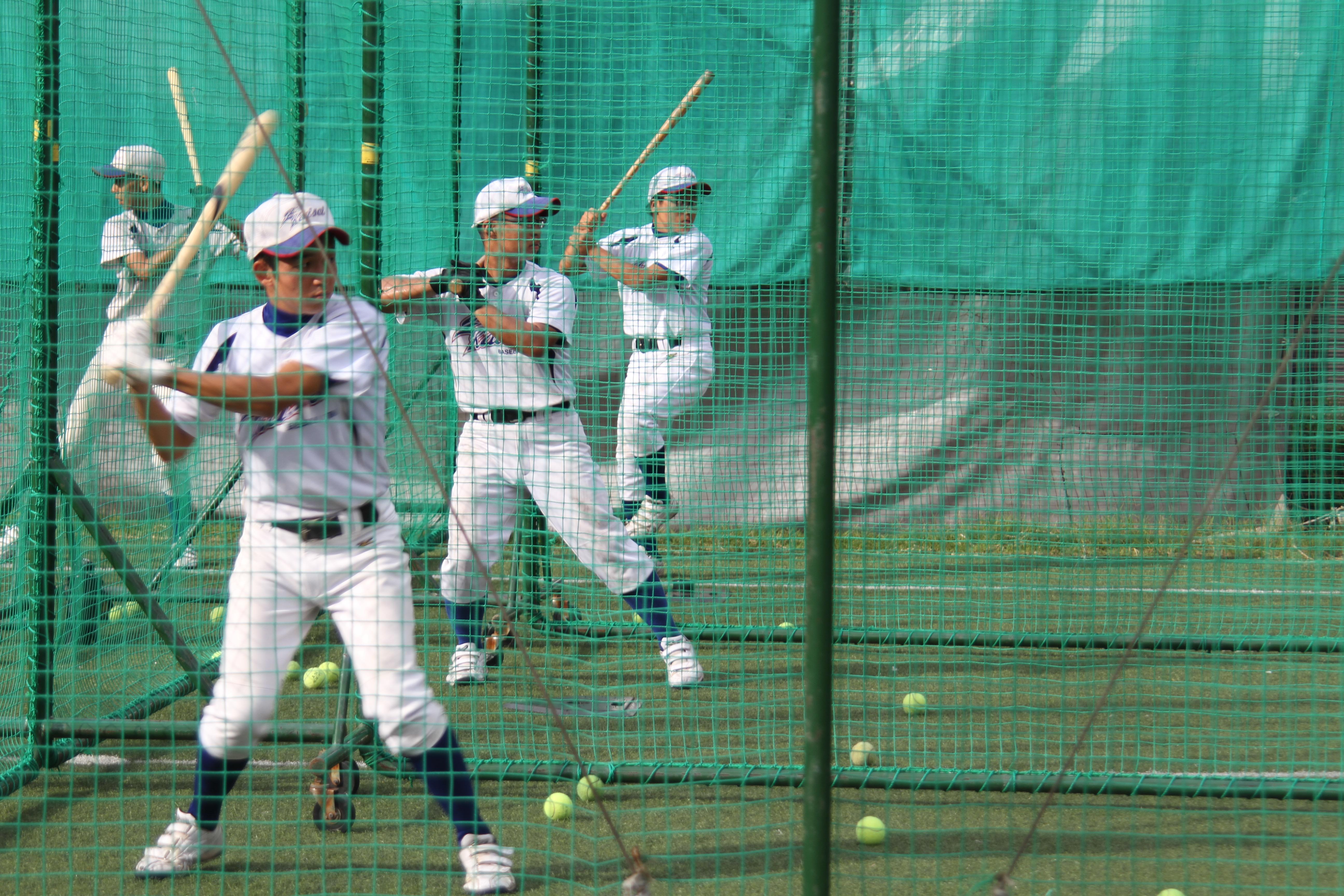 【逗子開成 野球部】多種多様な打撃練習