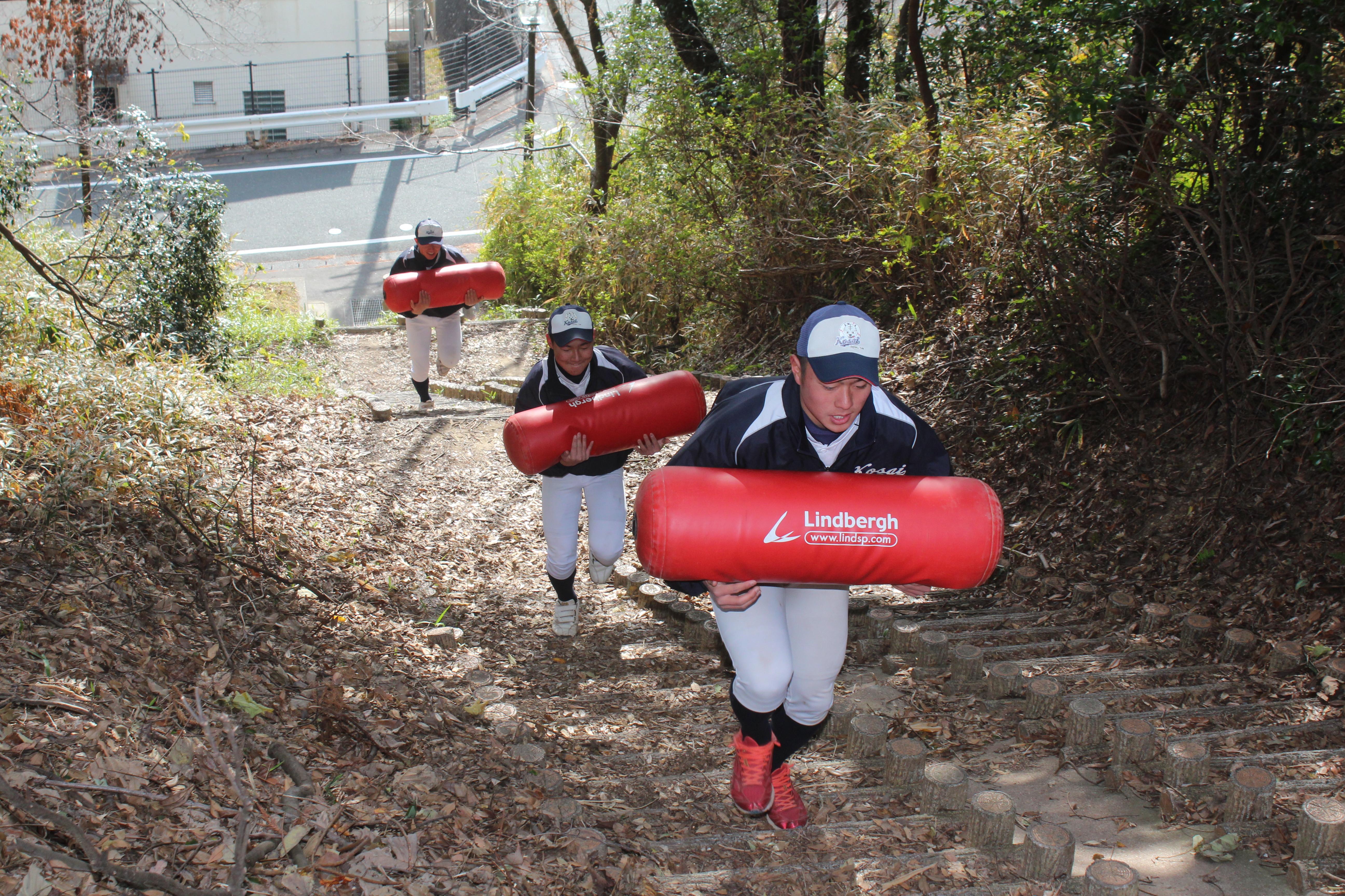【湖西 野球部】タンク山トレーニング