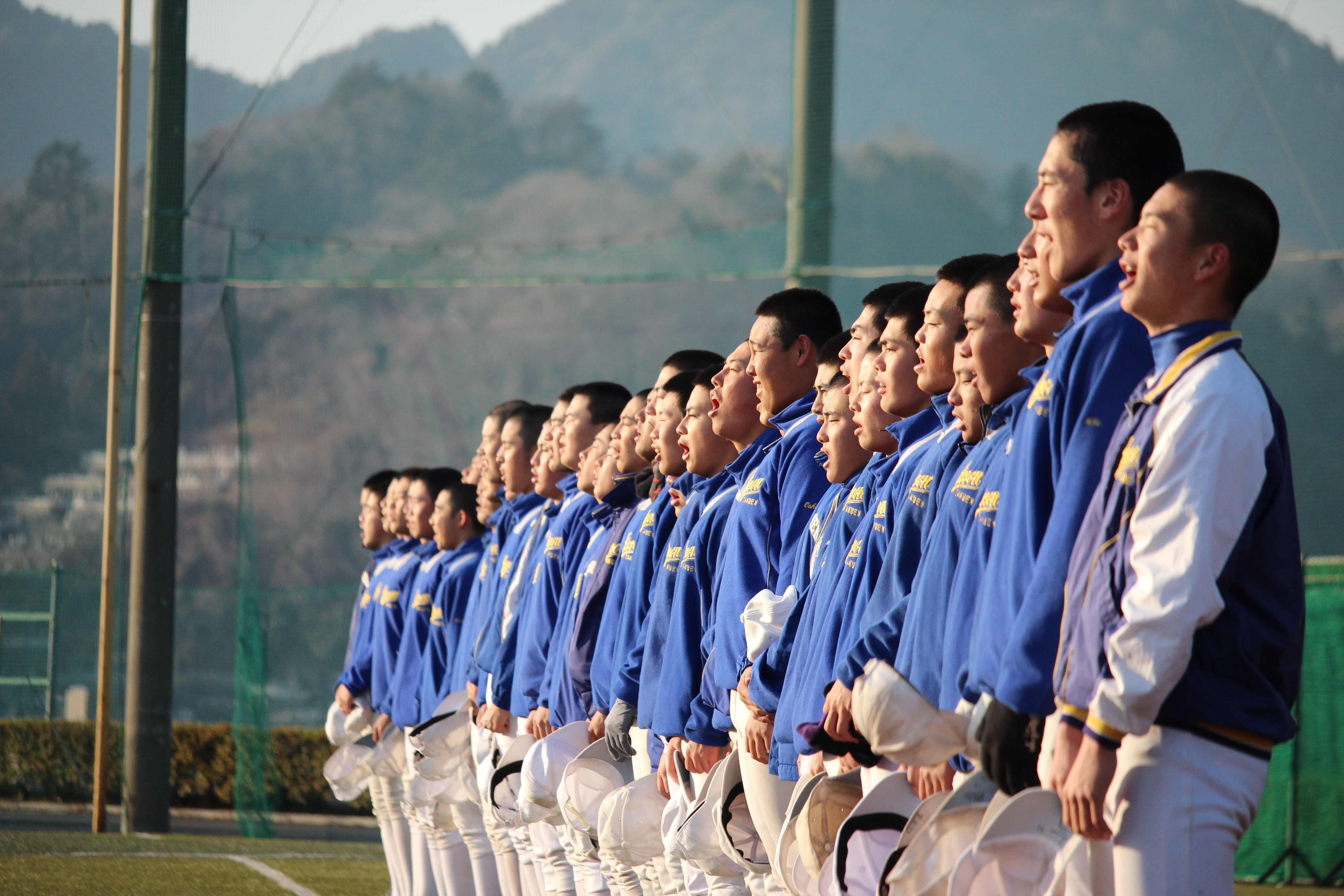 【実践学園 野球部】応援&刺激し合うサッカー部