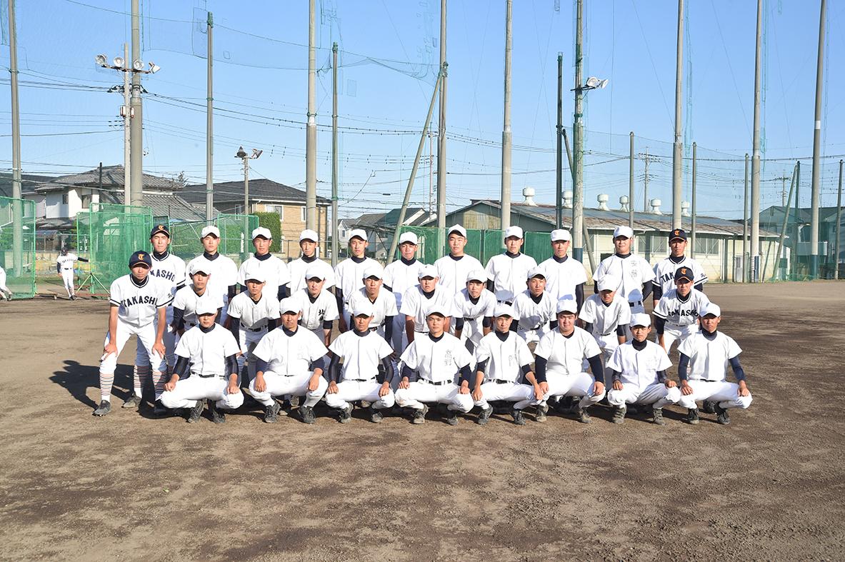 【高崎商 野球部】新1年生32人加入