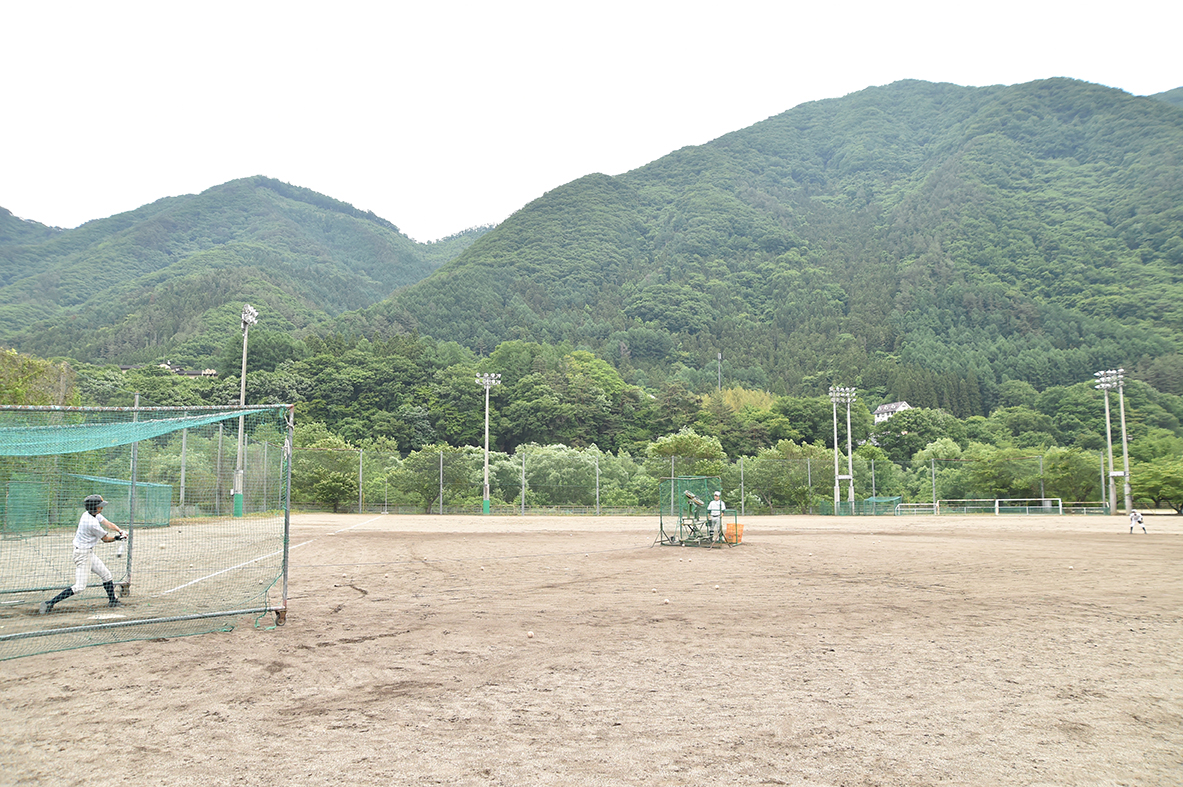 【尾瀬 野球部】充実した練習環境