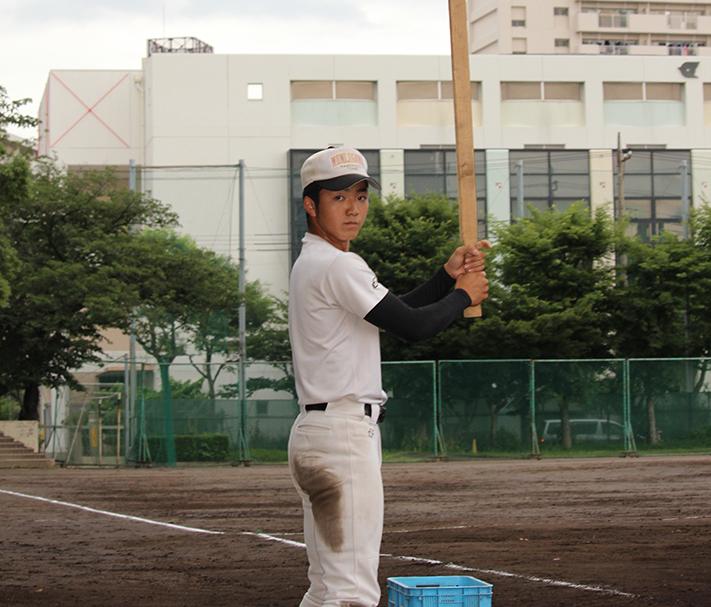 【紅葉川 野球部】角材から作ったマイロングバット