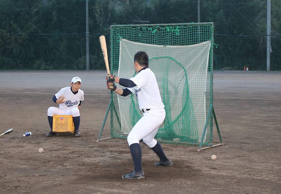 【伊東商 野球部】11種類のティー打撃