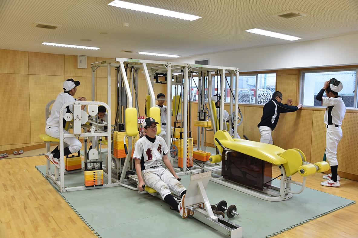 【鷺宮 野球部】ウエイトトレーニング