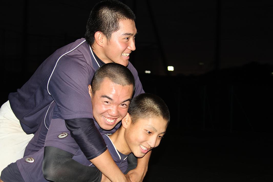 【菅 野球部】2人おんぶダッシュ