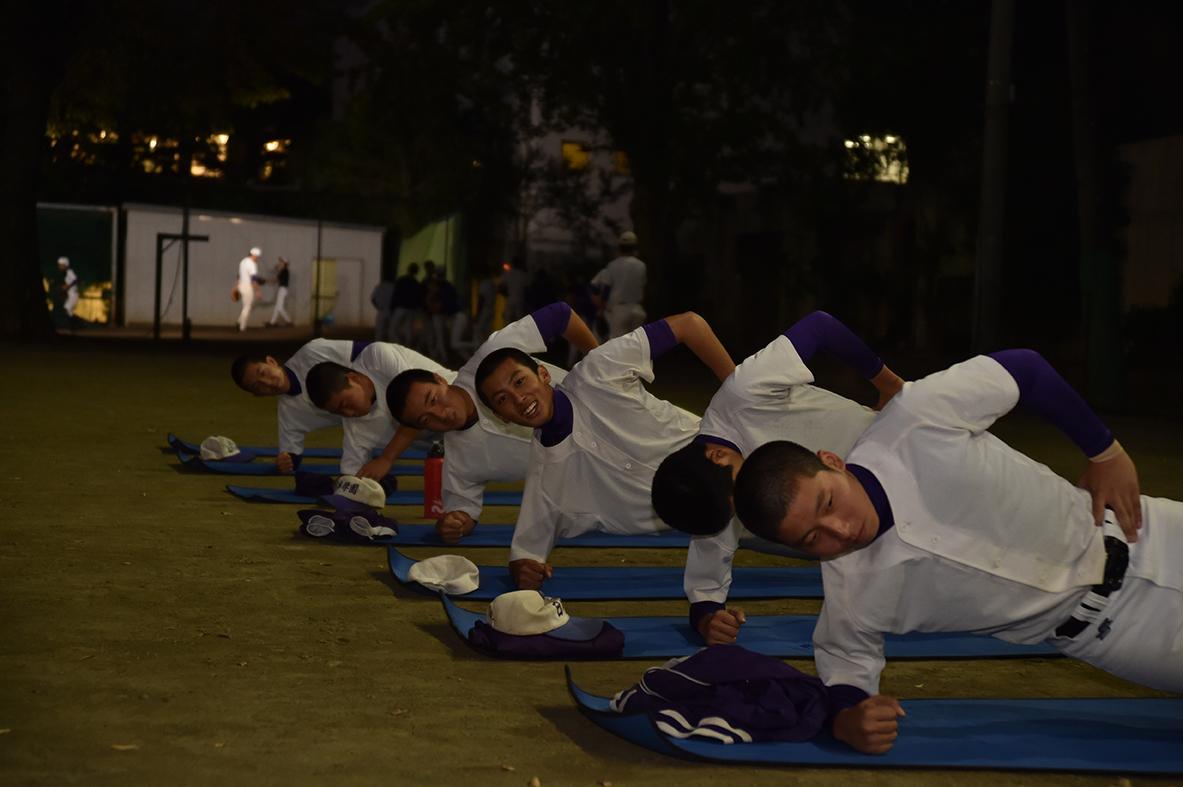 【日本学園 野球部】パワー・スピード・スタミナ強化
