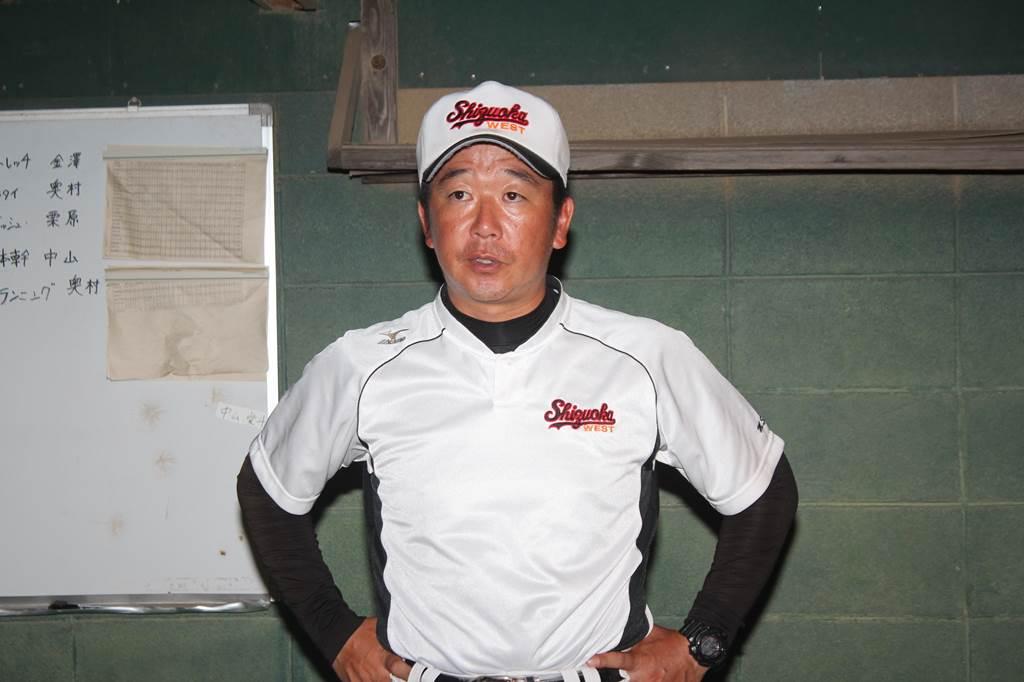 静岡西・志田真佐和監督「野球を通じて人間的に成長してほしい」/「全力発声」監督コメント