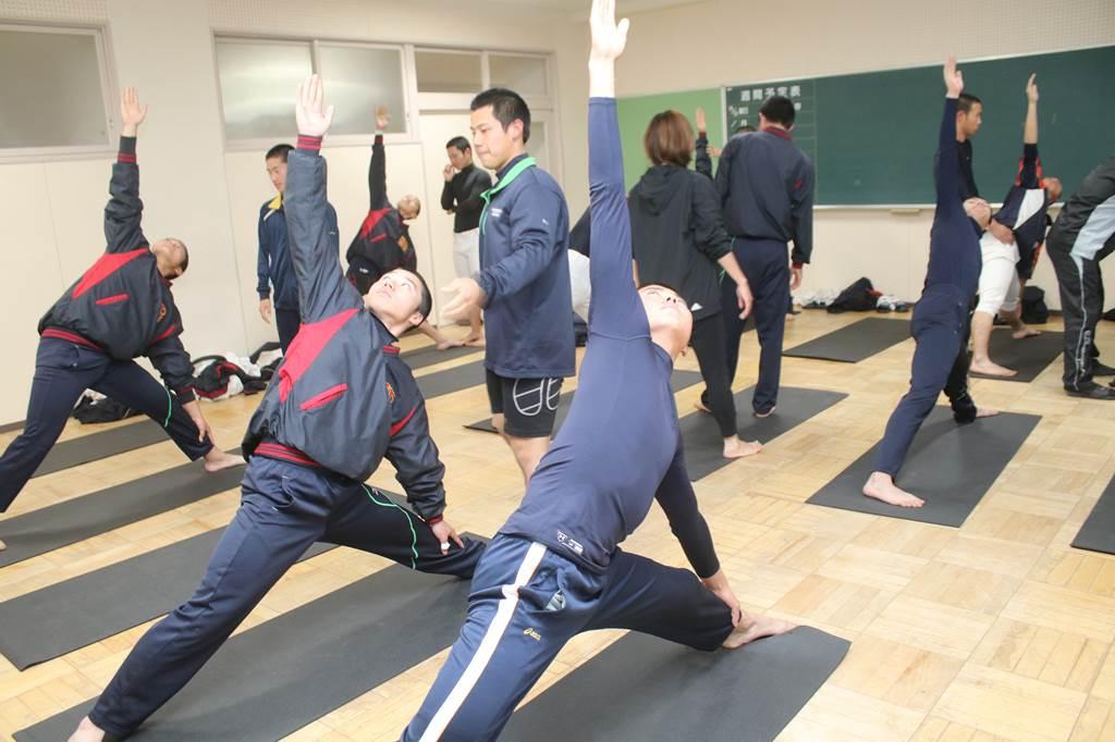 【浜松学院 野球部】『ヨガで心身を鍛える』