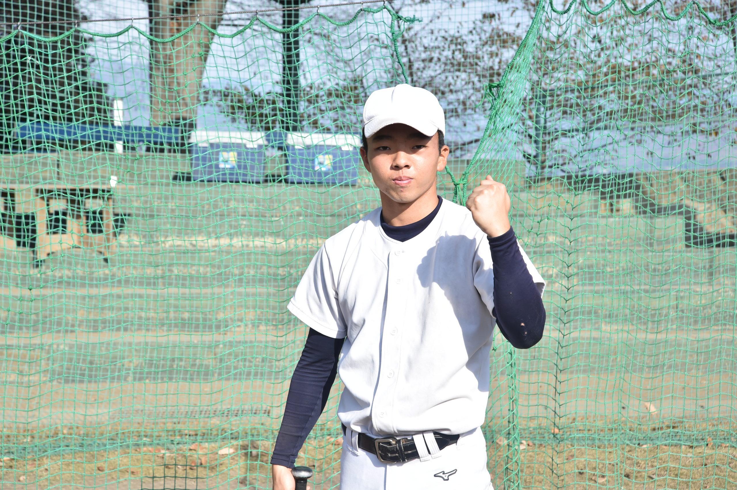 【樹徳】『主将のチーム分析・髙田悠生 主将(2年=中堅手)』コラム #樹徳