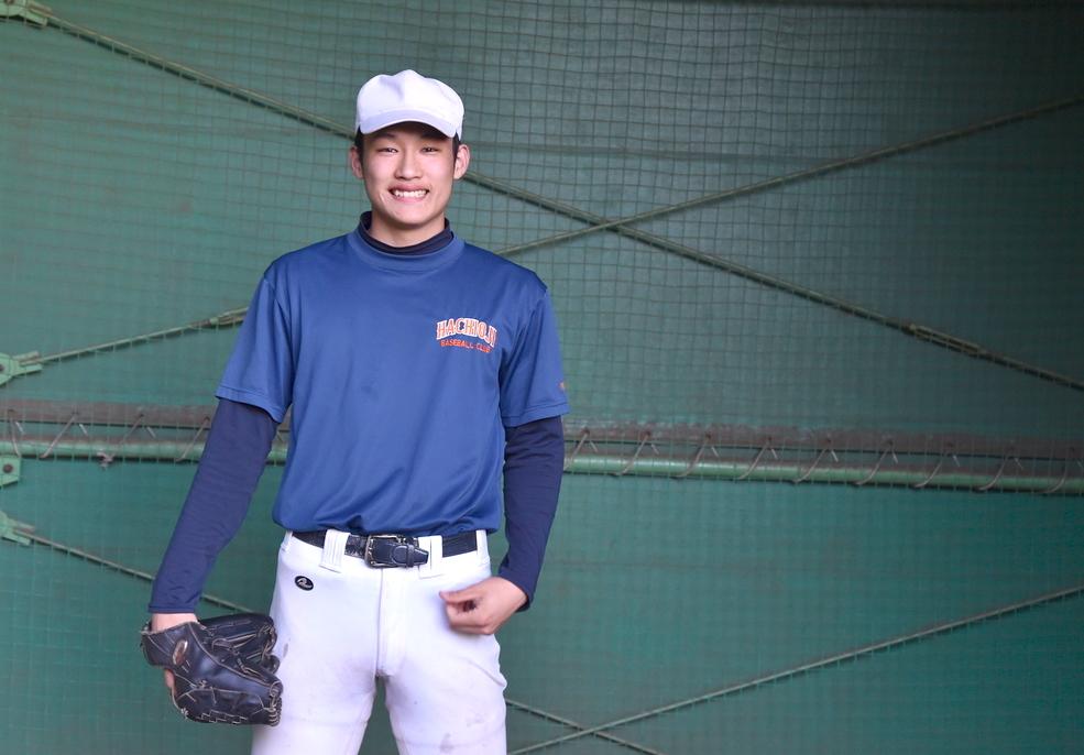【八王子】プロ注目大型左腕 羽田慎之介(2年=投手)#八王子